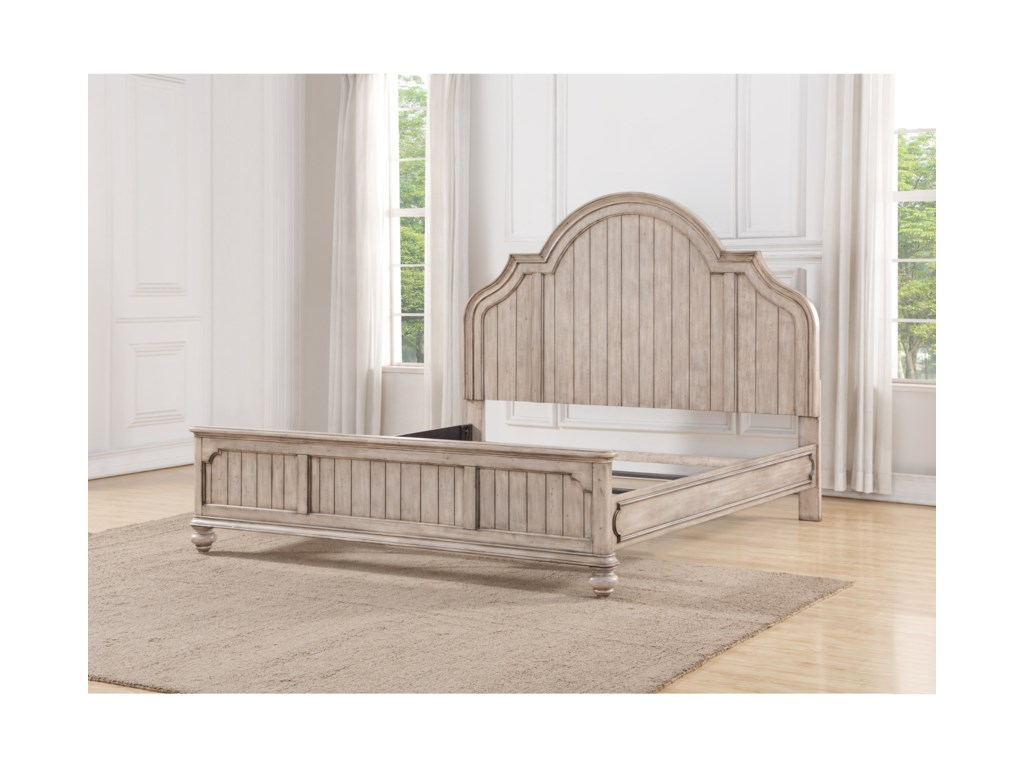 Flexsteel Wynwood Collection PlymouthQueen Panel Bed