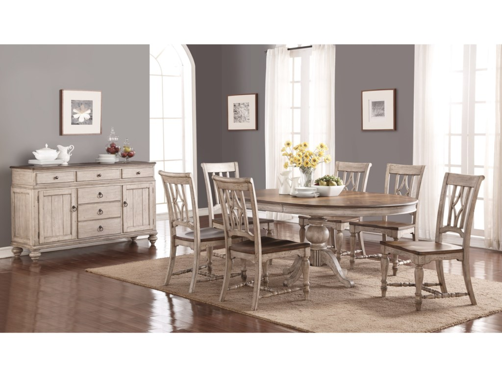 Flexsteel Wynwood Collection PlymouthDining Room Group