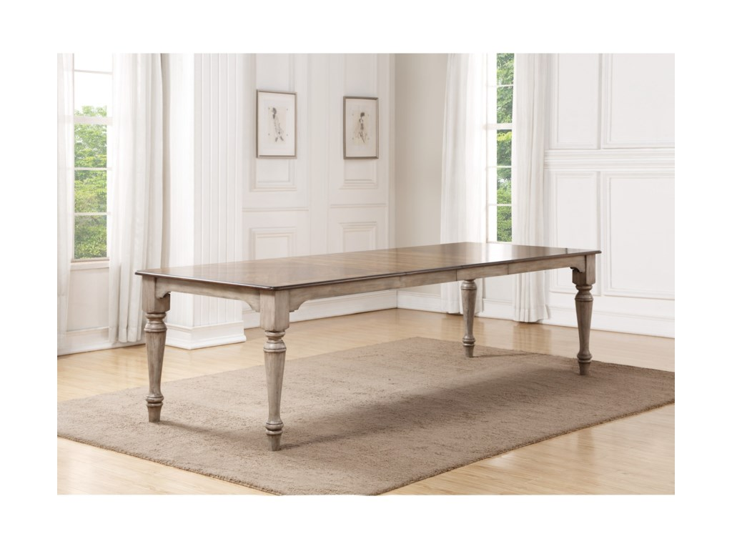 Flexsteel Wynwood Collection PlymouthRectangular Dining Table