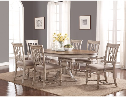 Flexsteel Wynwood Collection Plymouth Cottage Table And
