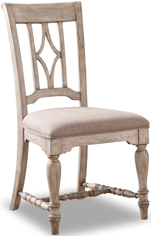Wynwood Dining Room Furniture: Flexsteel Wynwood Collection Plymouth Dining Side Chair