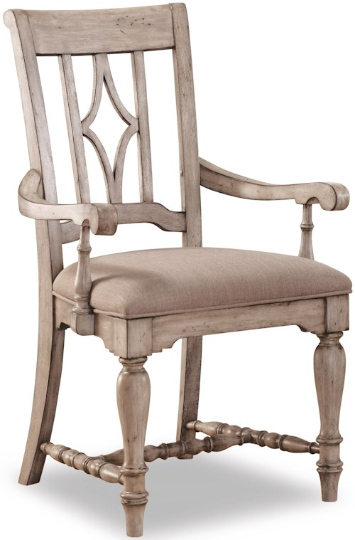 Wynwood Dining Room Furniture: Flexsteel Wynwood Collection Plymouth Cottage Dining Arm