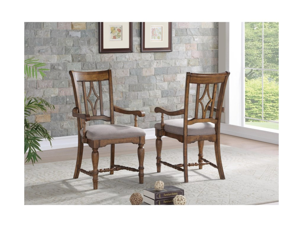 Flexsteel PlymouthDining Arm Chair