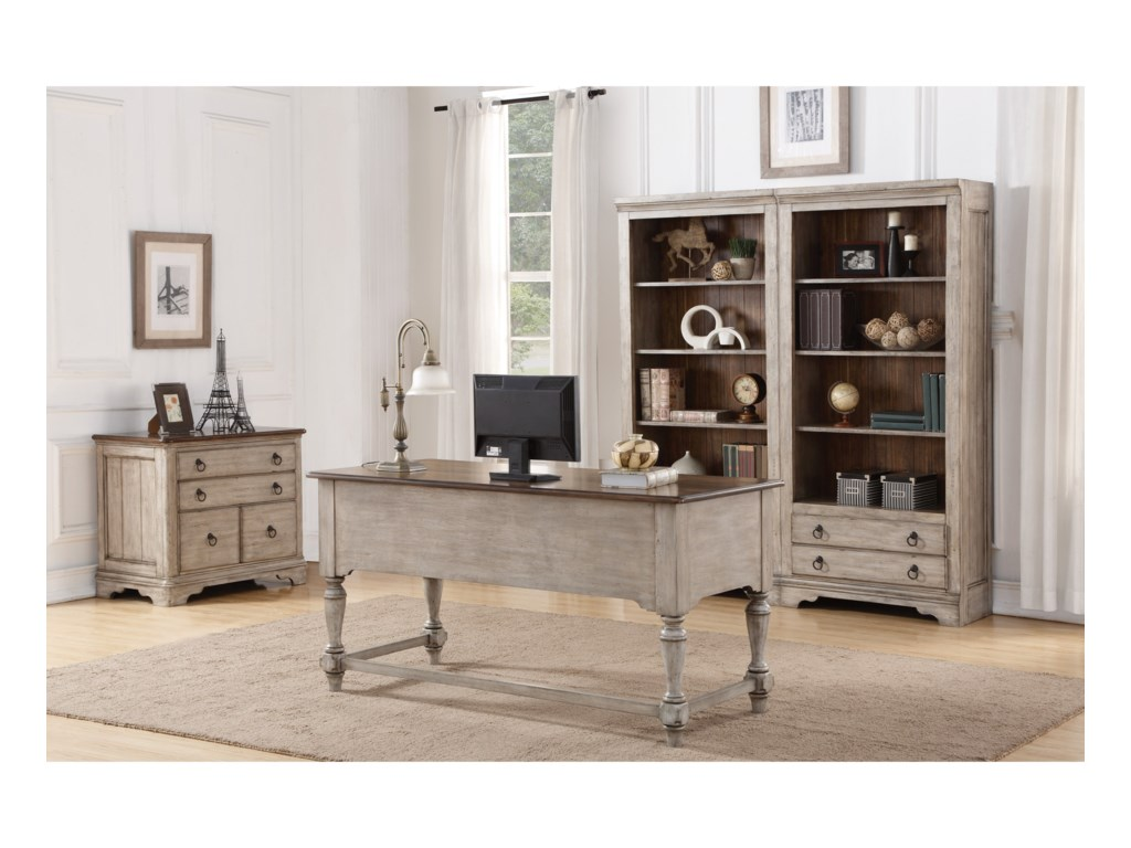 Flexsteel Wynwood Collection PlymouthHome Office Group