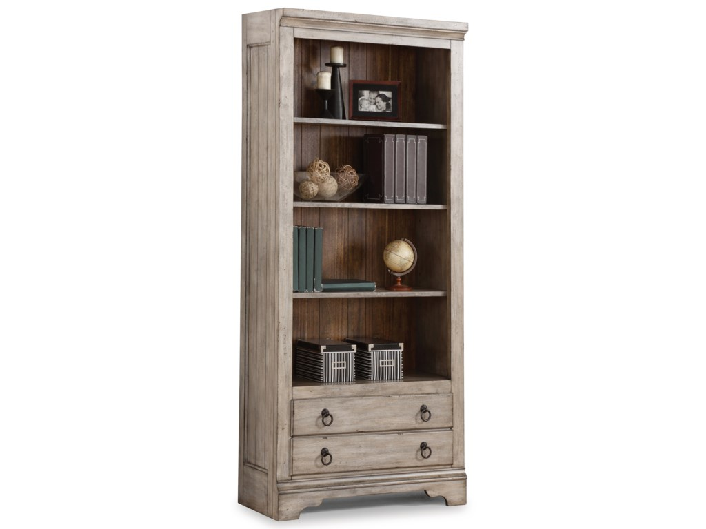 Flexsteel Wynwood Collection PlymouthFile Bookcase