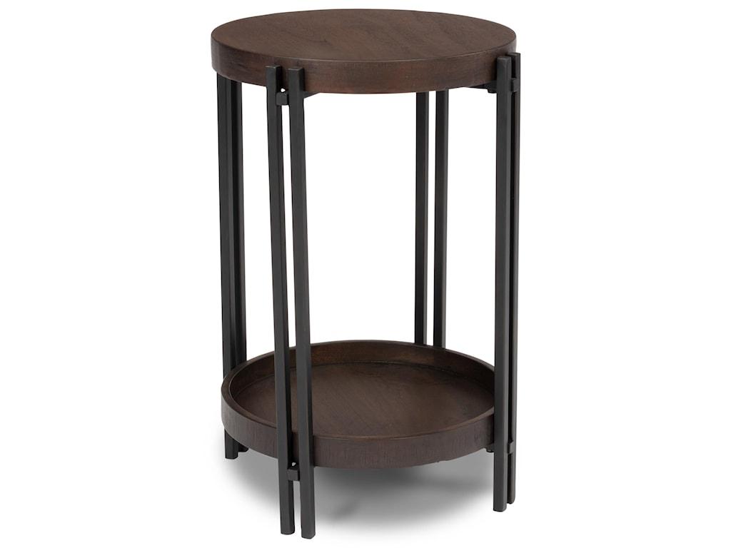 Flexsteel Wynwood Collection PrairieChairside Table