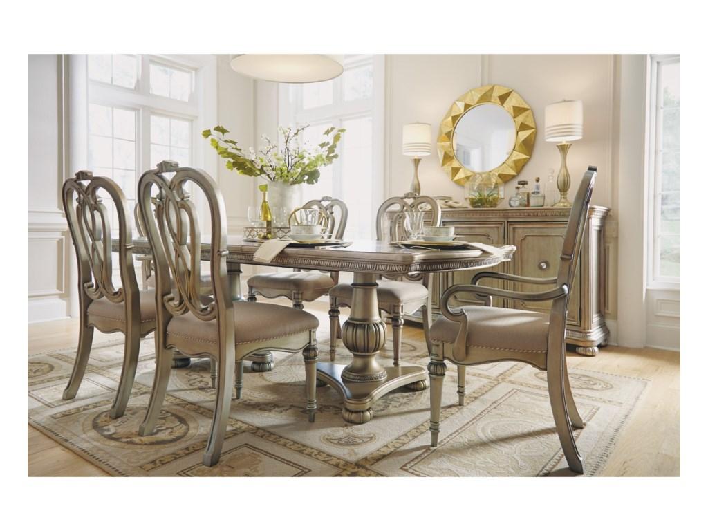 Flexsteel San Cristobal Formal Dining Group