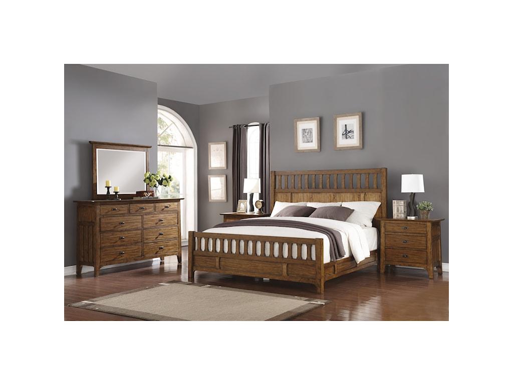 Wynwood, A Flexsteel Company SonoraQueen Bedroom Group