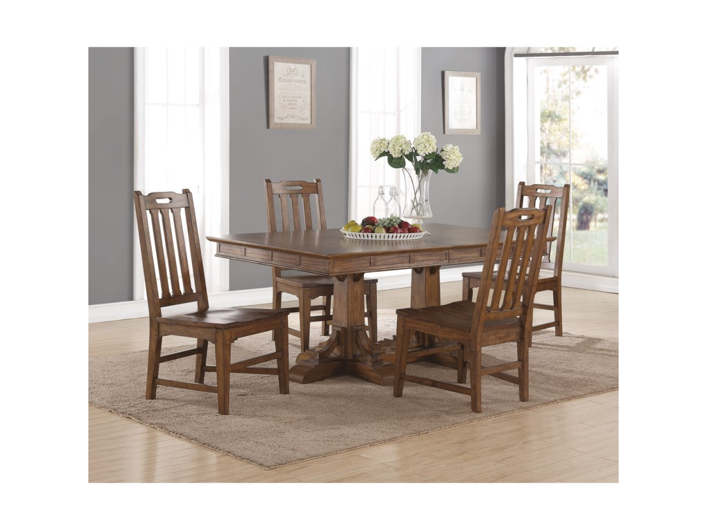 Flexsteel Wynwood Collection SonoraRectangular Dining Table and Chair Set