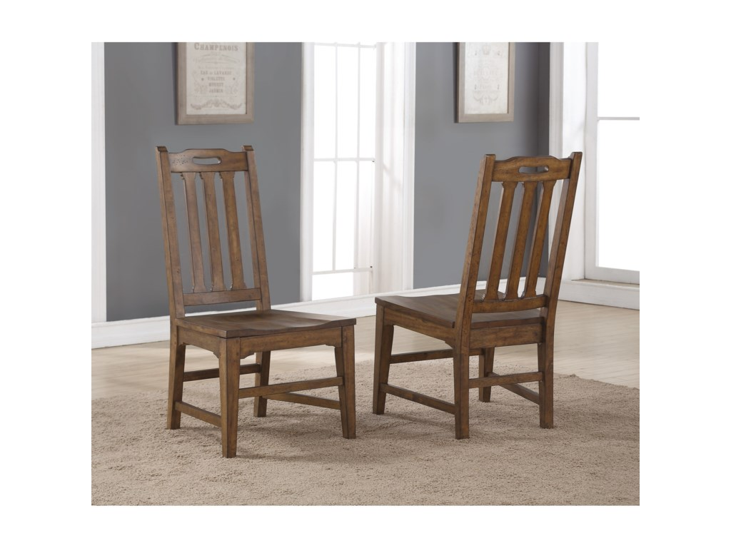 Flexsteel Wynwood Collection SonoraDining Side Chair