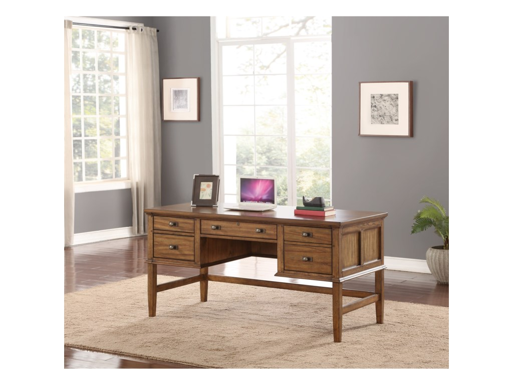 Flexsteel Wynwood Collection SonoraWriting Desk