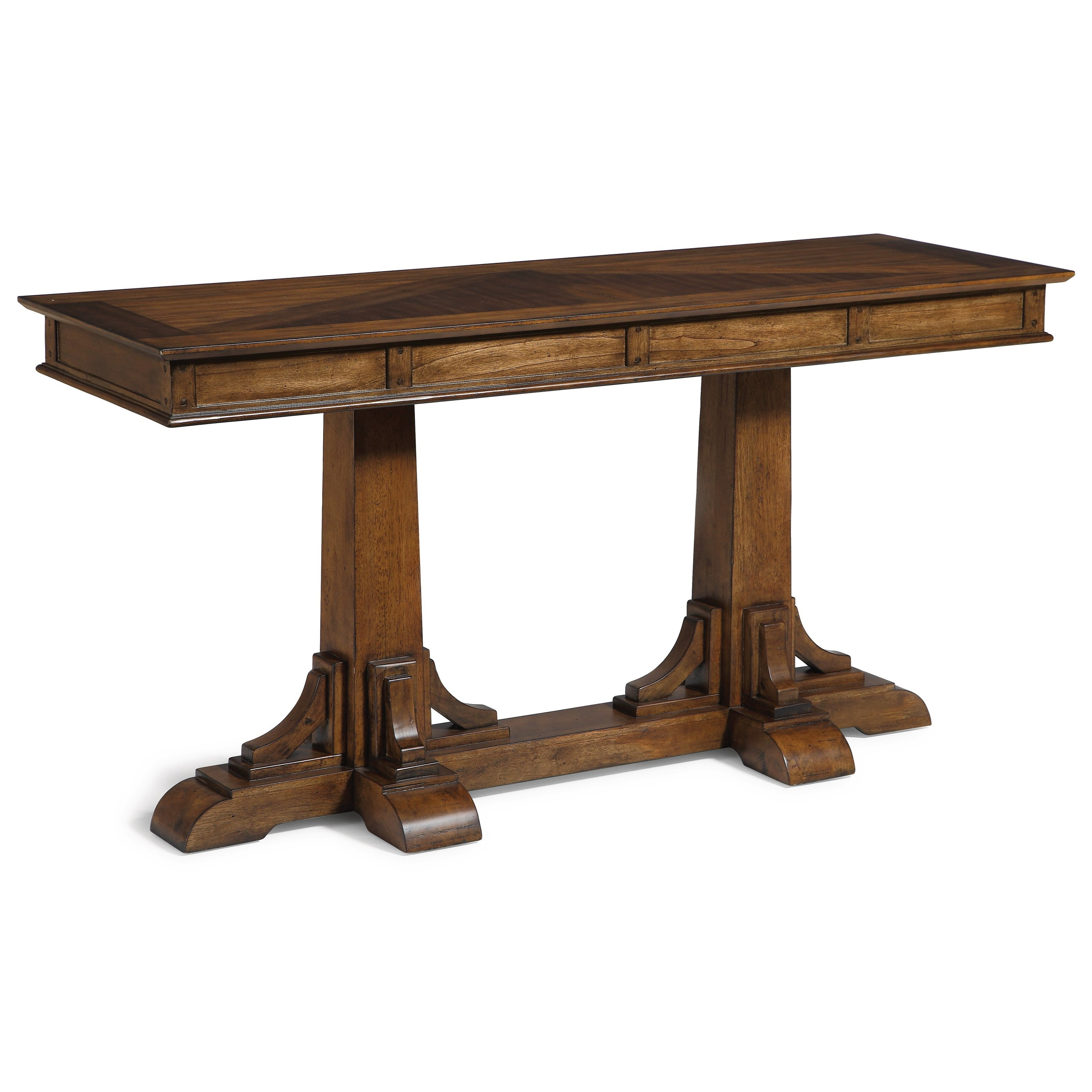 Flexsteel Wynwood Collection Sonora Mission Sofa Table With