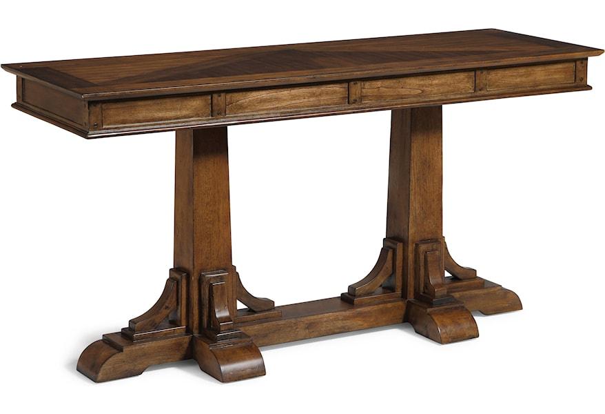 Sonora W1434 04 Mission Sofa Table