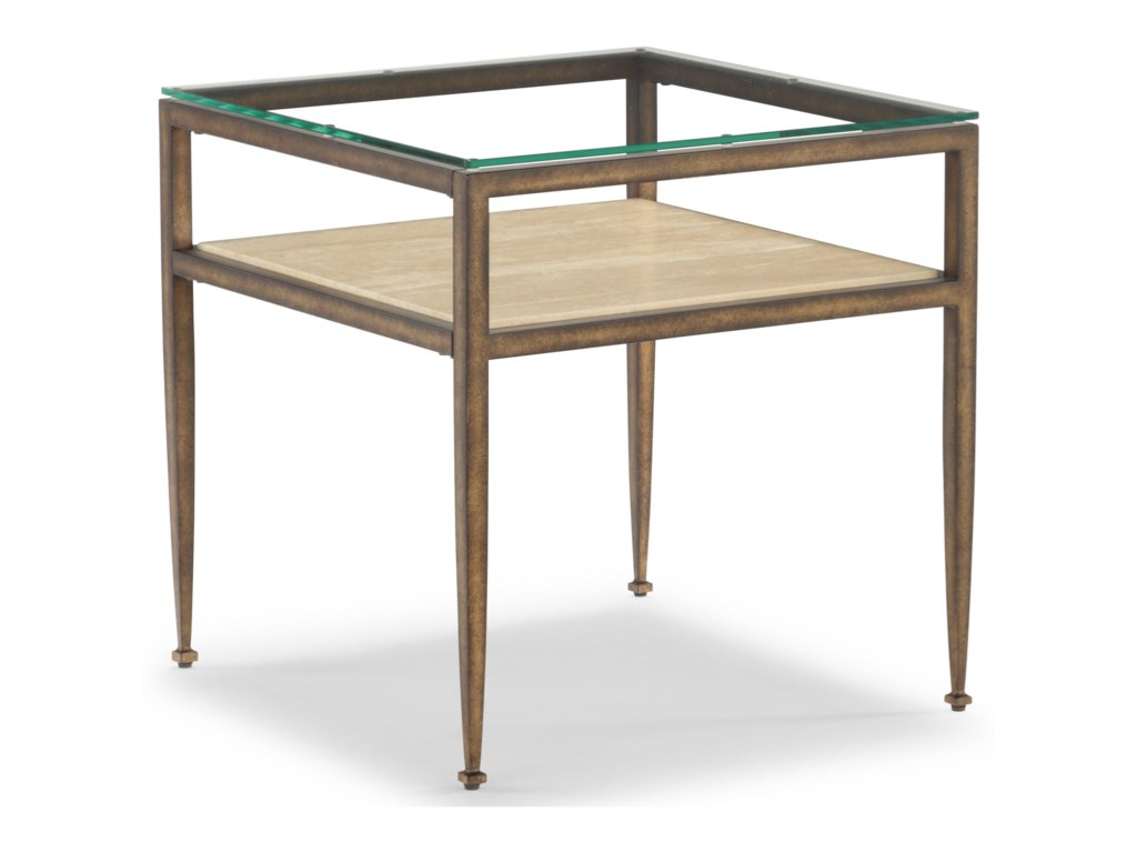 Wynwood, A Flexsteel Company VeniceSquare End Table