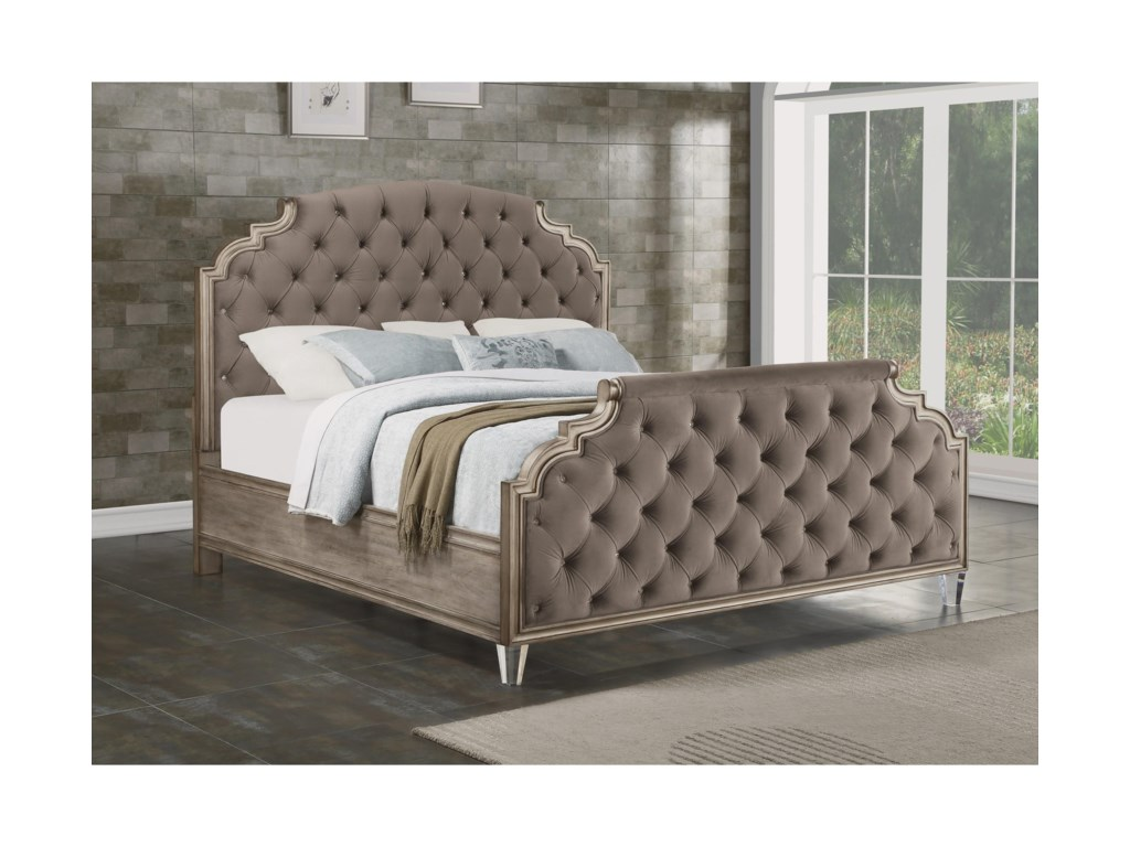 Flexsteel VogueCalifornia King Upholstered Bed