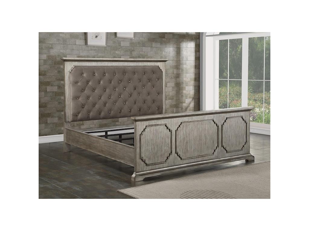Flexsteel VogueKing Upholstered Bed