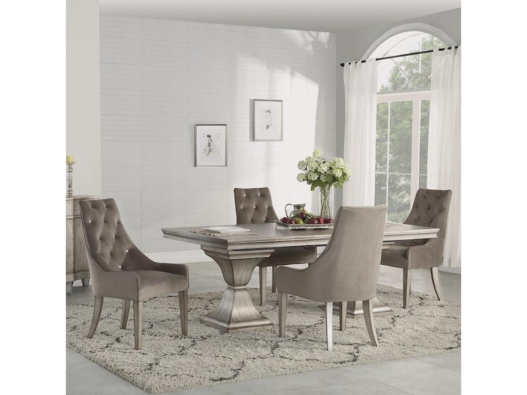 Flexsteel Wynwood Collection Vogue5 Piece Dining Set