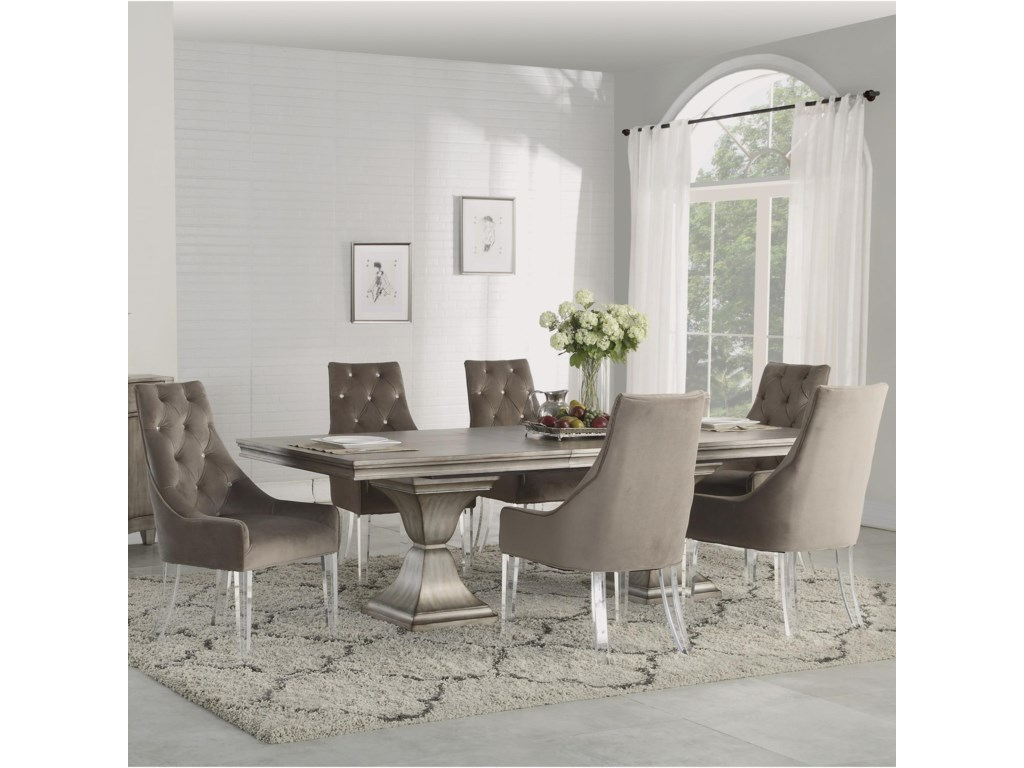 Flexsteel Wynwood Collection Vogue7 Piece Dining Set