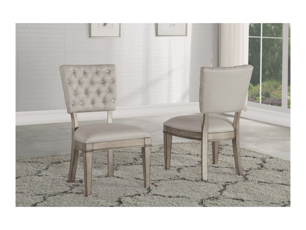 Flexsteel Wynwood Collection VogueUpholstered Side Chair
