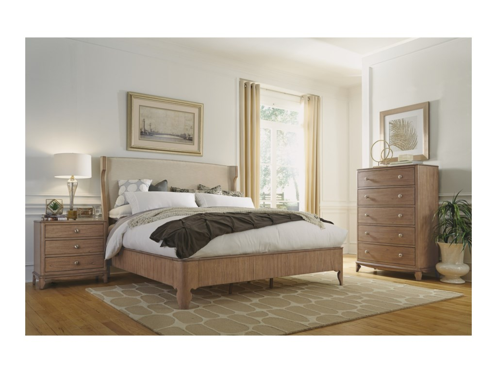 Wynwood, A Flexsteel Company MiramarQueen Bedroom Group