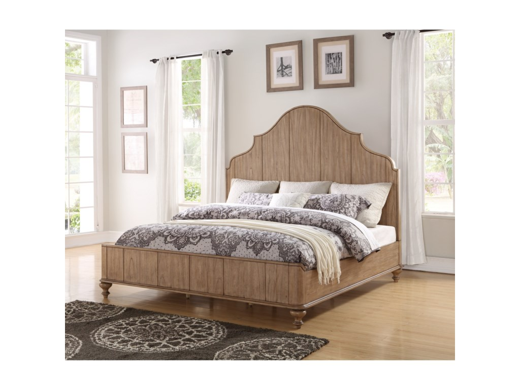 Flexsteel MiramarKing Bed