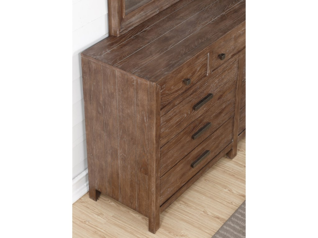 Flexsteel Wynwood Collection Hampton Bedroom Group9 Drawer Dresser