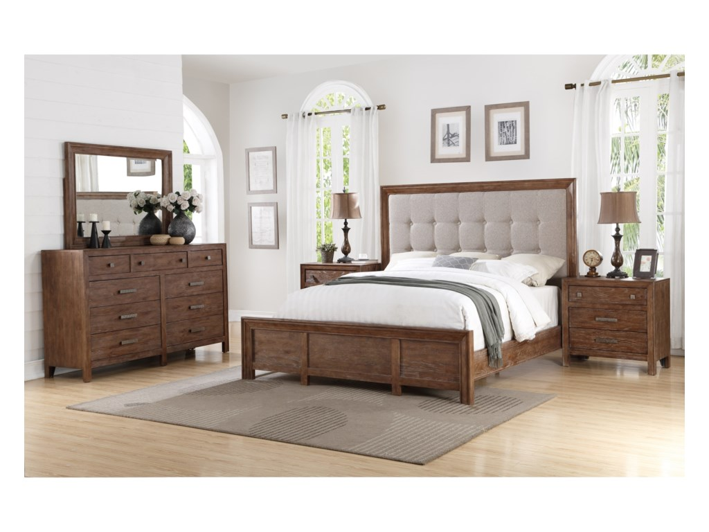 Wynwood, A Flexsteel Company Hampton Bedroom GroupKing Bedroom Group