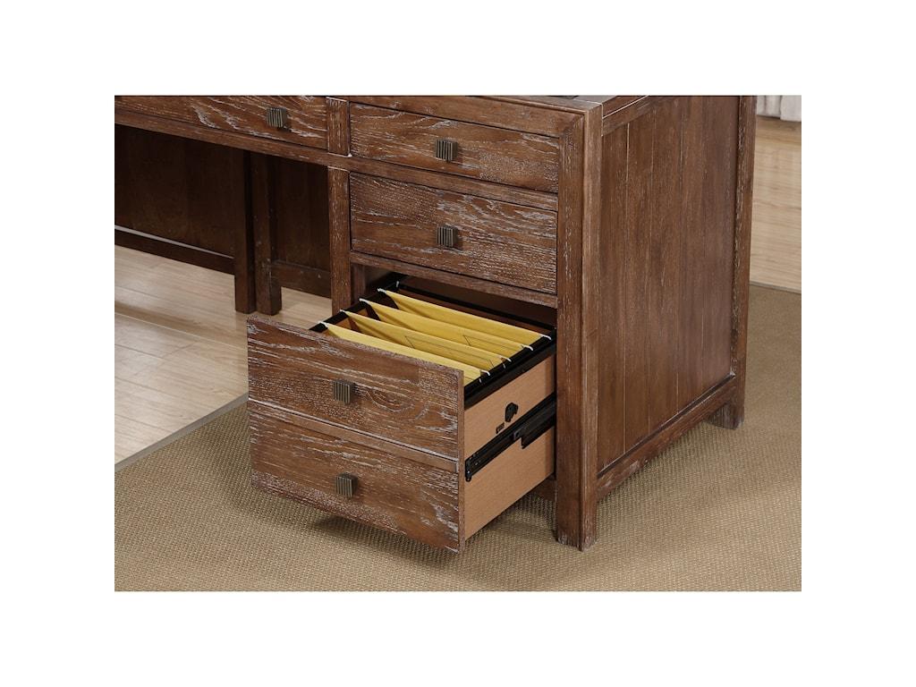 Wynwood, A Flexsteel Company Hampton Home Office GroupL-Shaped Desk