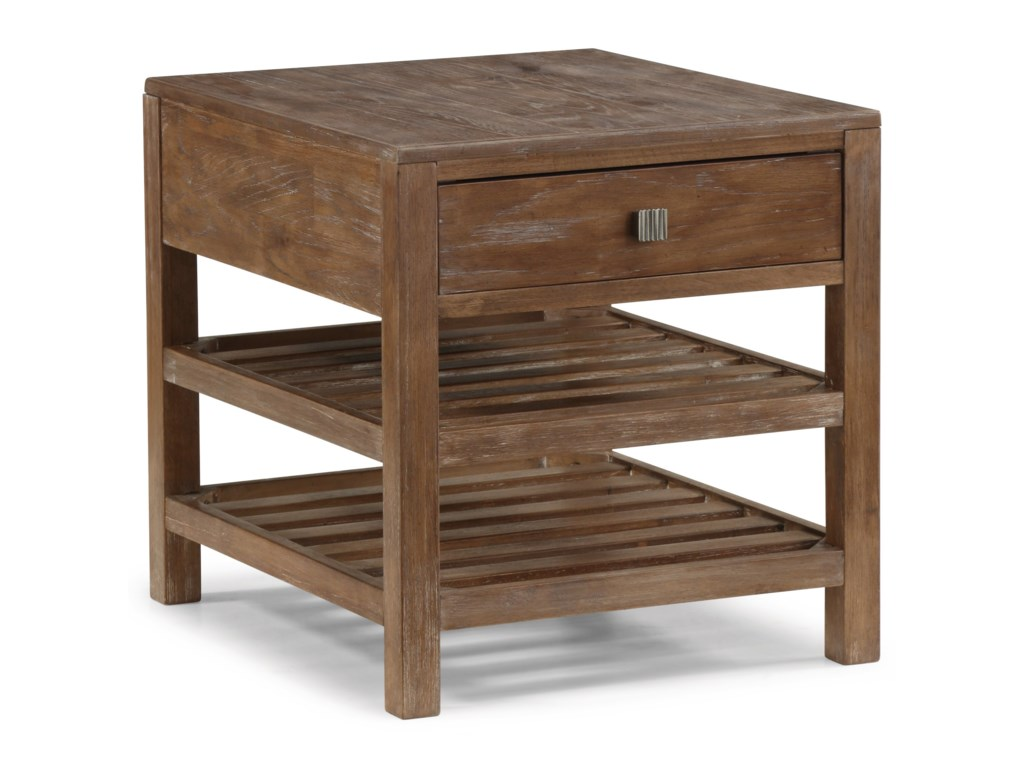 Flexsteel Wynwood Collection Hampton Occasional Group End Table