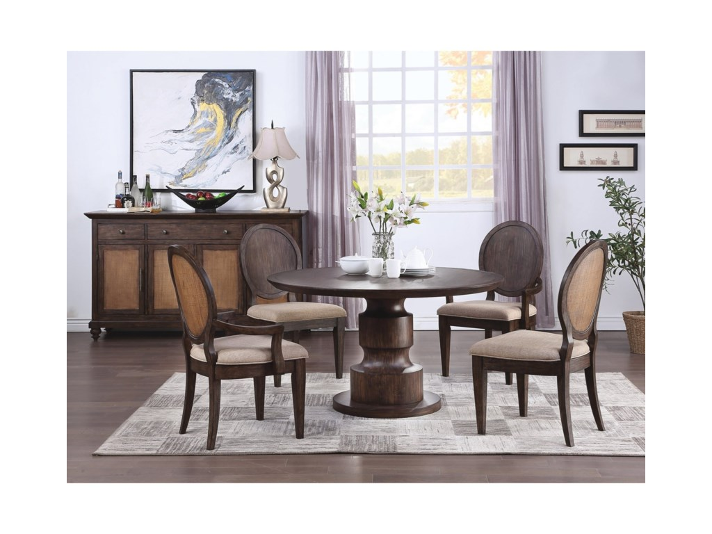 Flexsteel Wynwood Collection Wakefield5-Piece Table and Chair Set