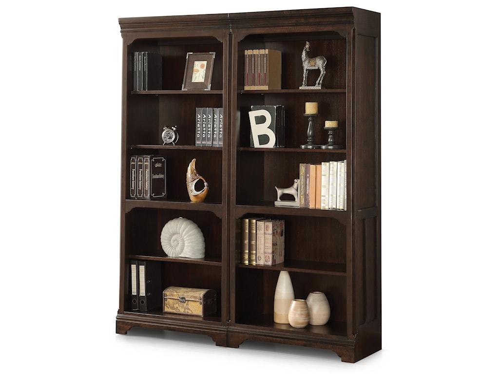 Flexsteel Wynwood Collection Walnut CreekBunching Bookcase