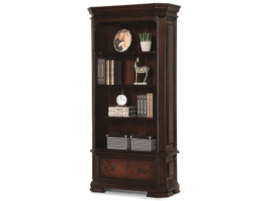 Flexsteel Wynwood Collection WestchesterTraditional File Bookcase