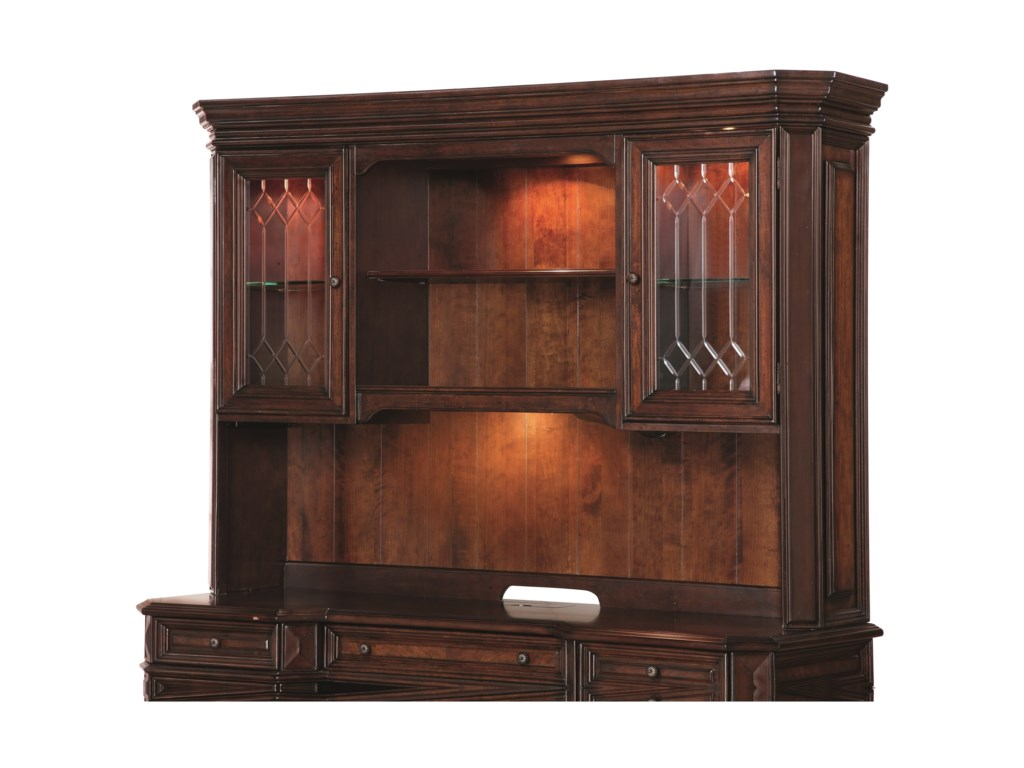 Flexsteel Wynwood Collection WestchesterTraditional Hutch