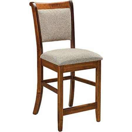 "30"" Stationary Bar Stool"