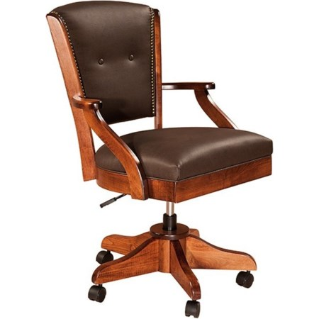 Short Arm Desk Chair