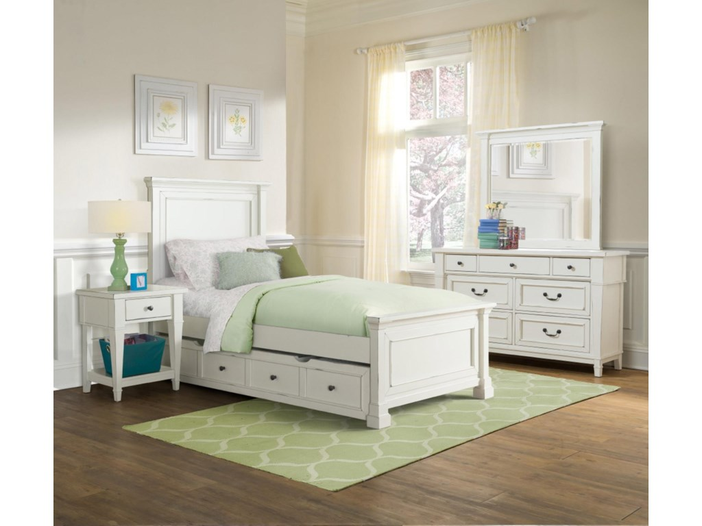 Folio 21 Stoney Creek YouthDaybed Trundle Storage