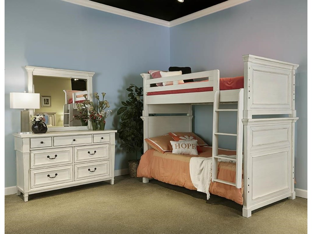 Folio 21 Stoney Creek YouthTwin/Twin Bunk Bed