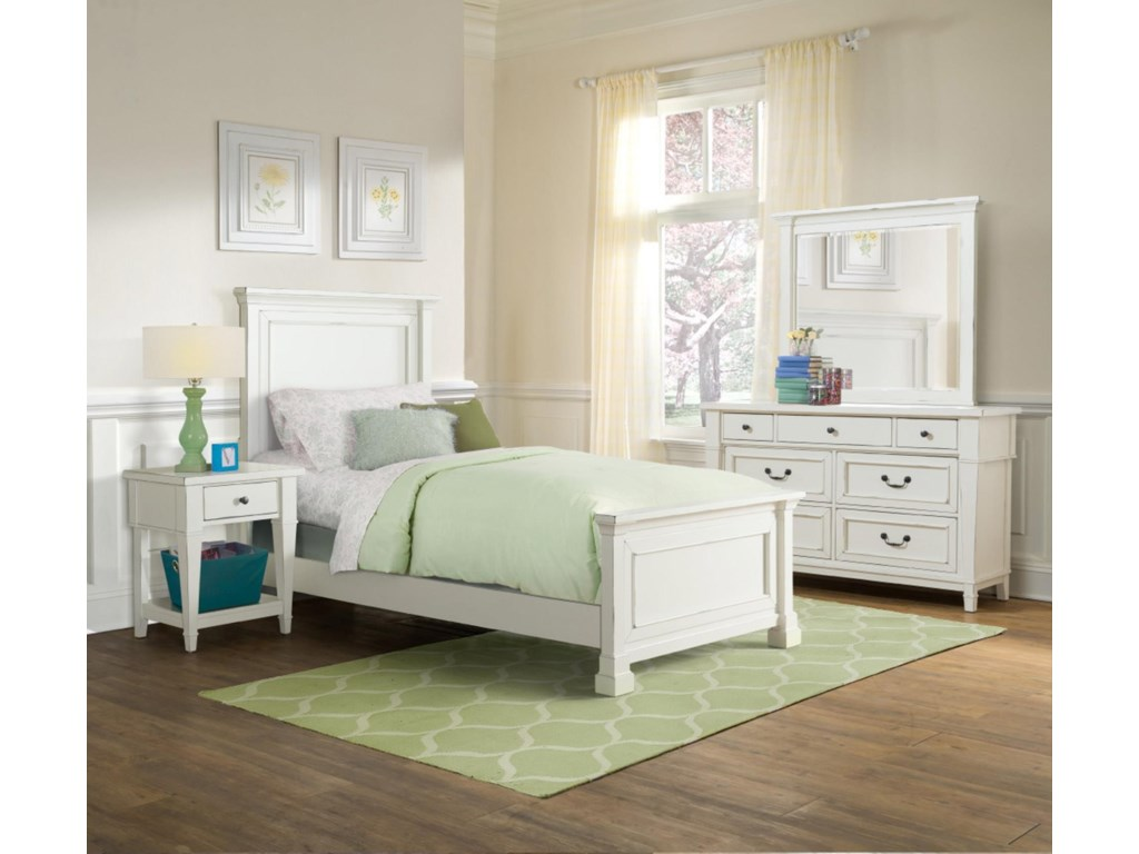 Folio 21 Stoney Creek YouthTwin Panel Bed