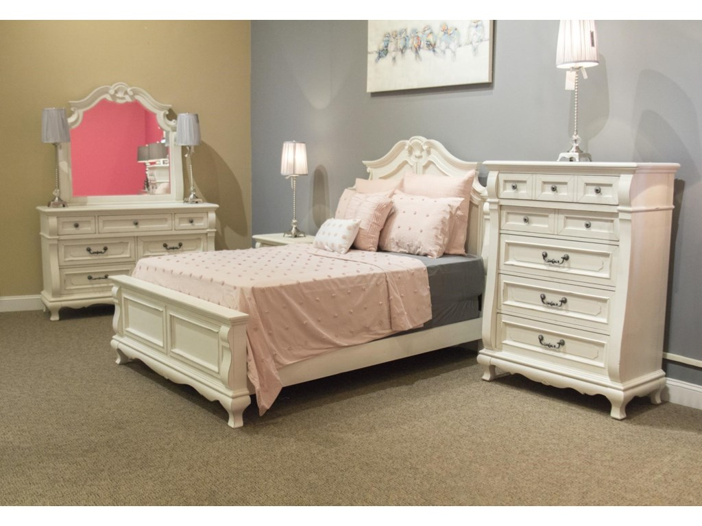 Folio 21 ChateauFull Panel Bed