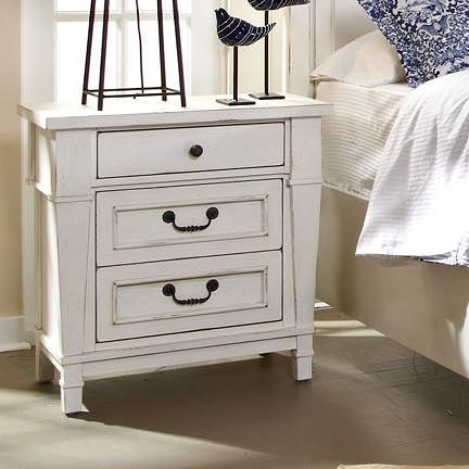 Folio 21 Astoria 3 Drawer Night Stand