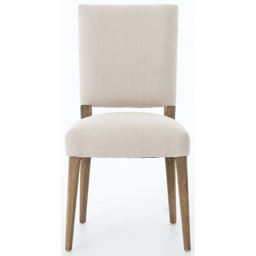 Four Hands Abbott Kurt Dining Chair Finished in Dark Linen