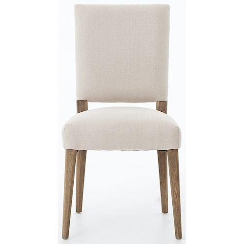Interior Style Abbott Kurt Dining Chair Finished in Dark Linen