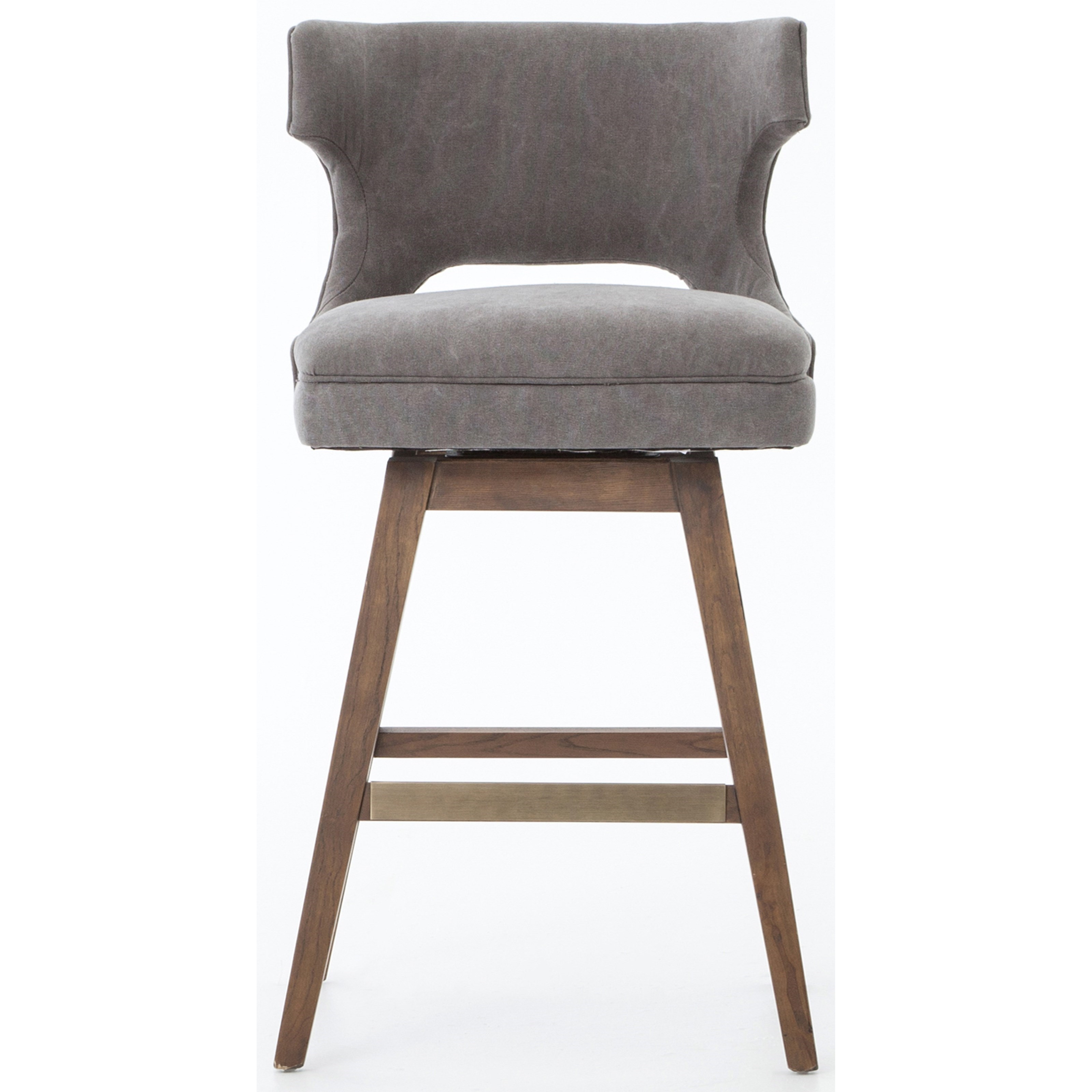 Charmant Four Hands AshfordTask Counter Stool With Swivel Base ...