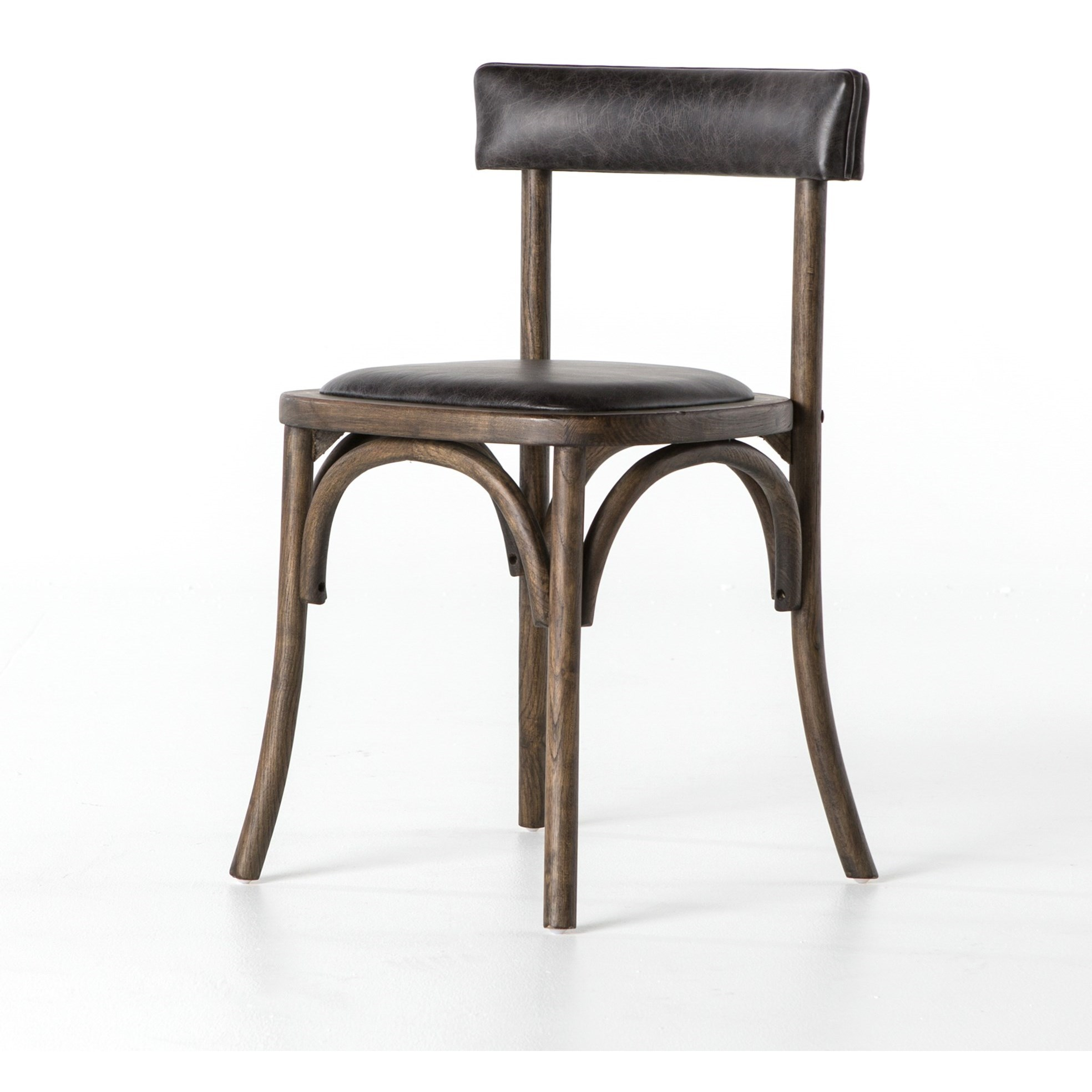 Elegant Four Hands Ashford Folio Dining Chair With Low Back