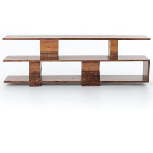 Four Hands Bina Open Ginger Console Table