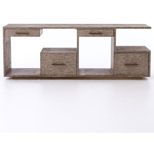 Four Hands Bina Debbie Console Table with Driftwood Finish