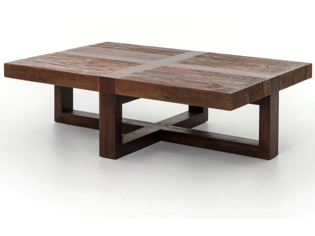 Four hands bina reclaimed bryan coffee table belfort furniture four hands bina reclaimed bryan coffee table geotapseo Gallery