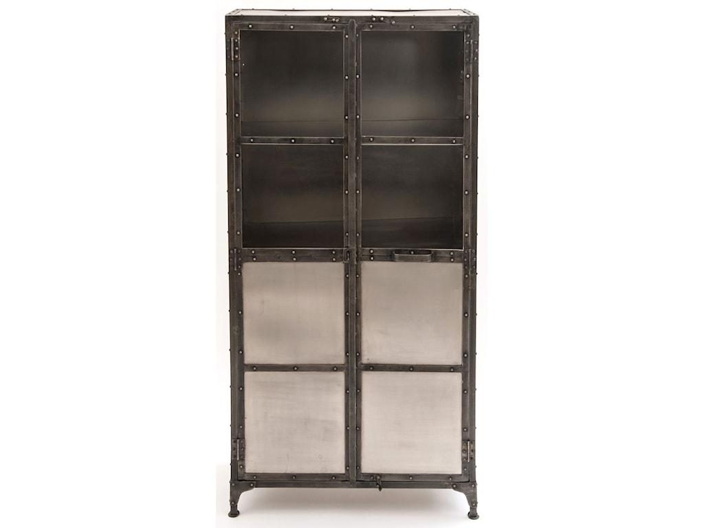 Four Hands Element IELEMixed Metal Cabinet