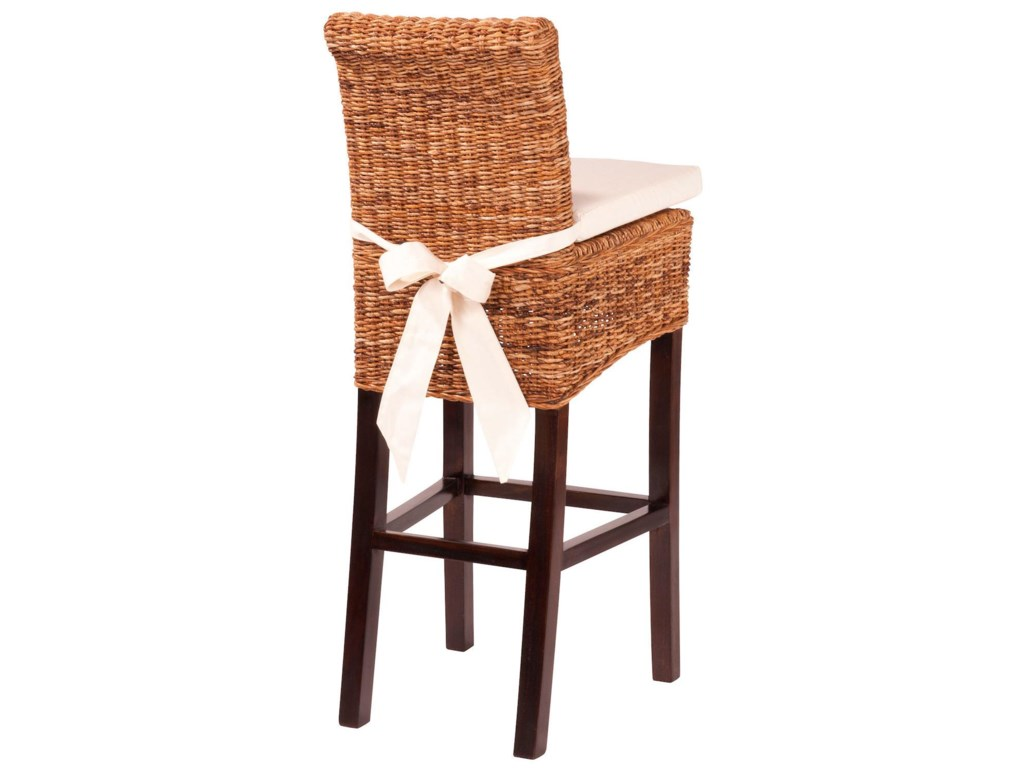 Interior Style Gr Roots Banana Leaf Counter Stool With
