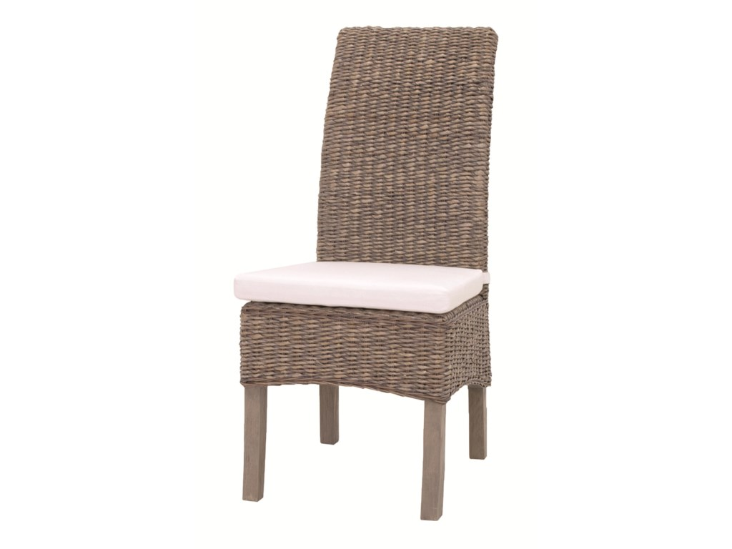 Interior Style Gr Roots Woven Banana Leaf Side Chair With